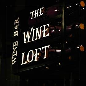 Wine loft sign